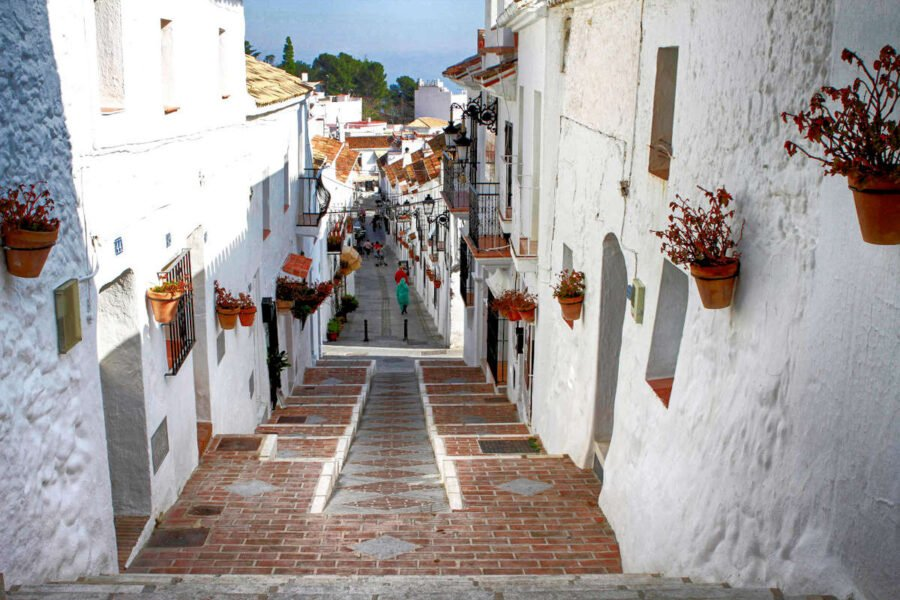Caminos en Mijas