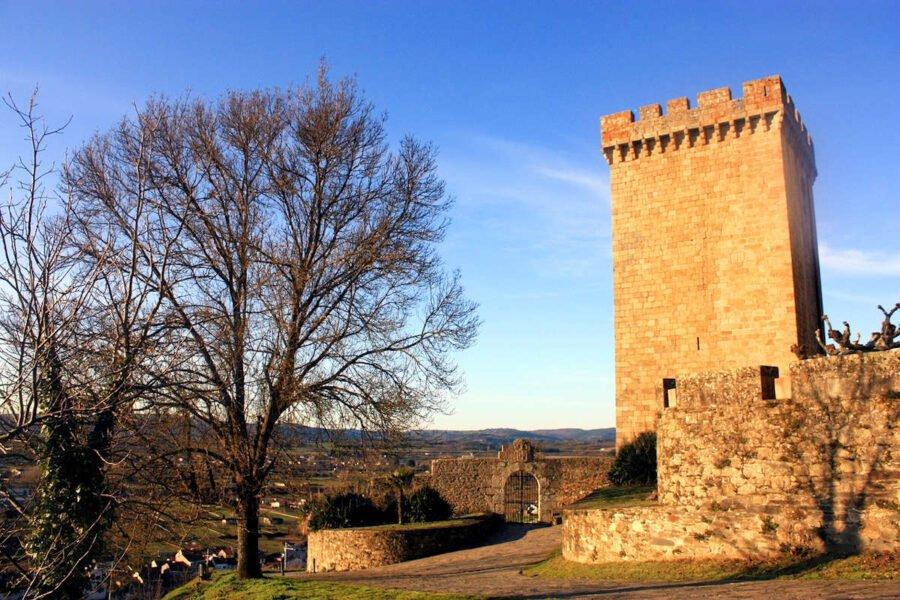 Castillo de Monforte de Lemos en Lugo