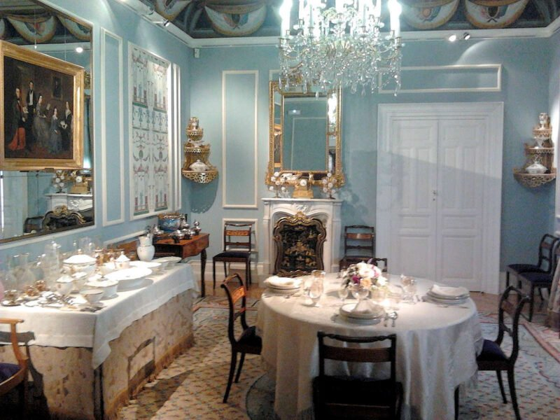 Comedor del Museo del Romanticismo