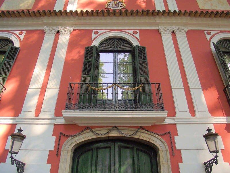 Fachada Palacio de Moratalla