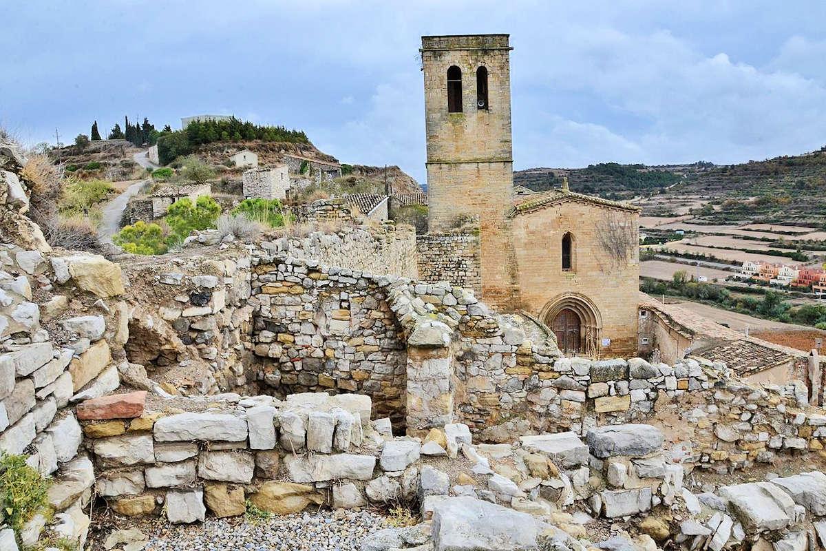 Iglesia-de-Santa- María-de-Guimerá-Lleida