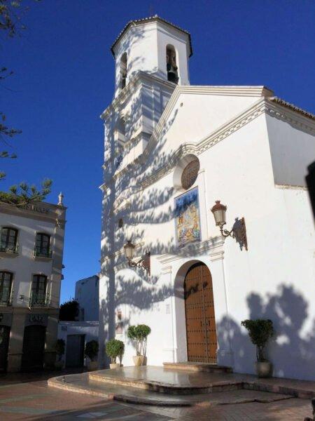 Iglesia de El Salvador en Nerja
