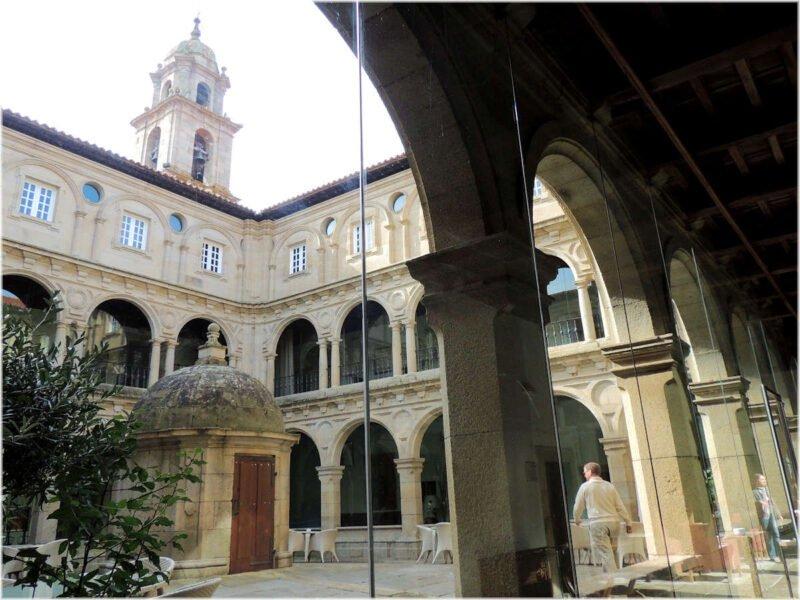 Interior Monasterio de San Vicente del Pino
