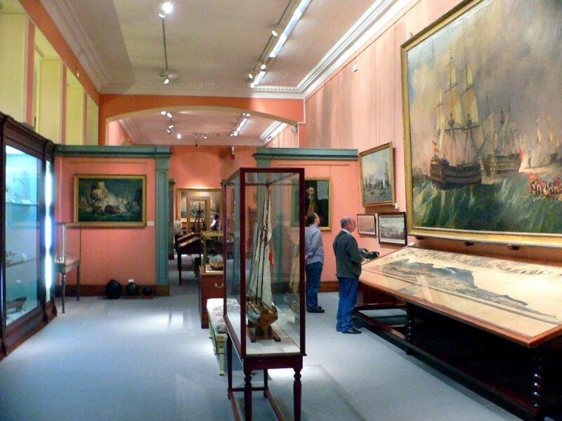 Interior Museo Naval de Madrid
