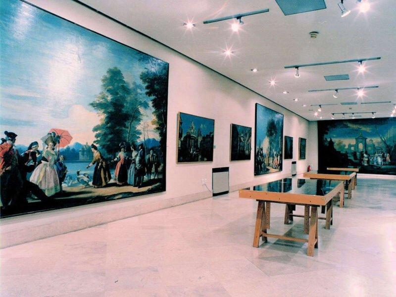 Interior Museo de Historia de Madrid