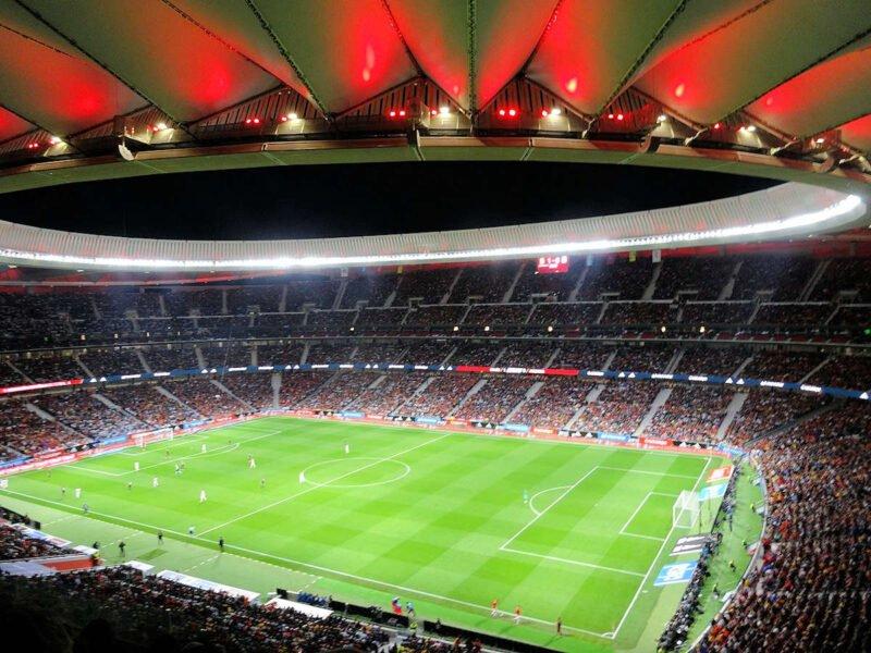 Juego en el Wanda Metropolitano