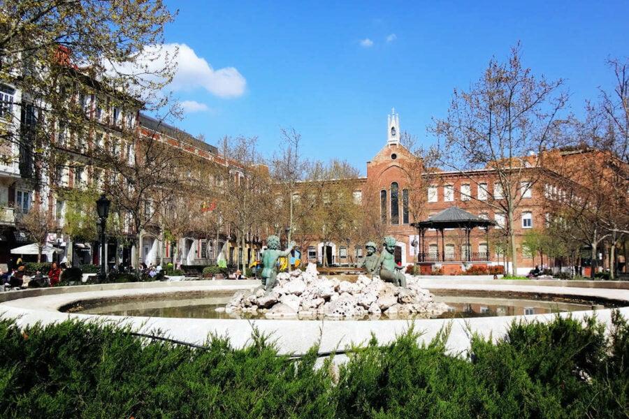 Madrid Plaza de Chamberí
