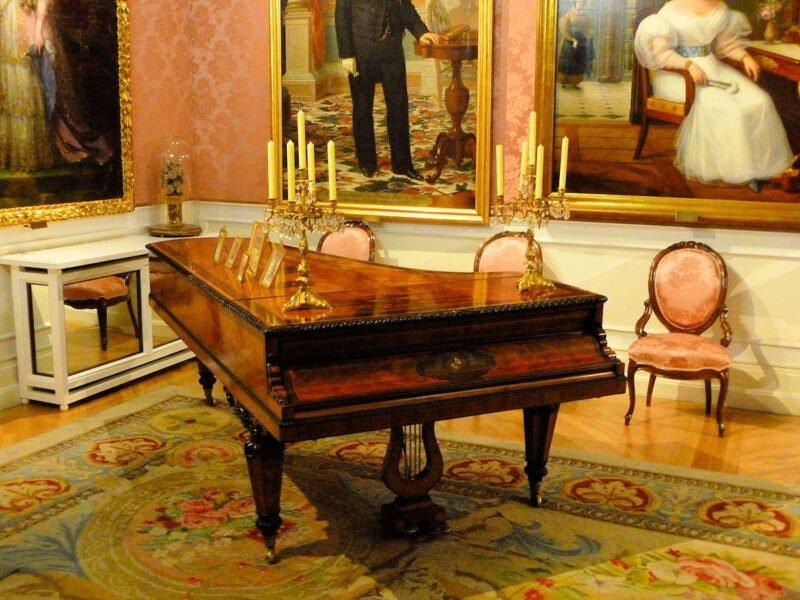 Piano en el Museo del Romanticismo