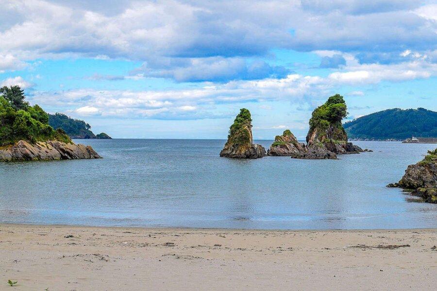 Playa de Coves en Viveiro