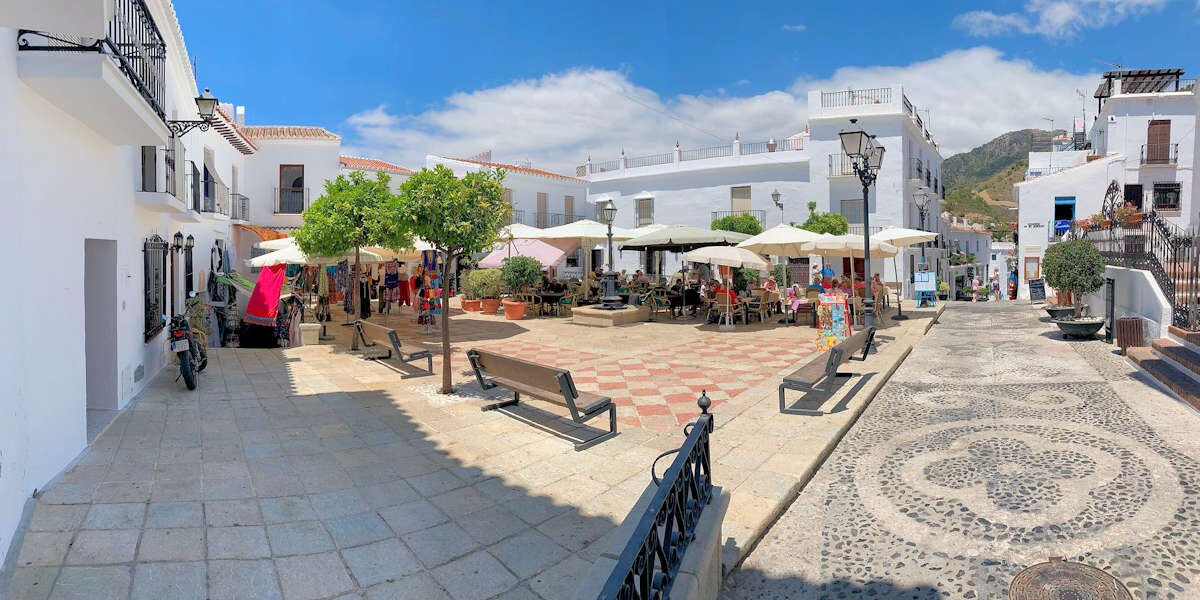 Plaza en Frigiliana