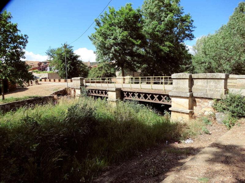 Puente sobre el río Jerga