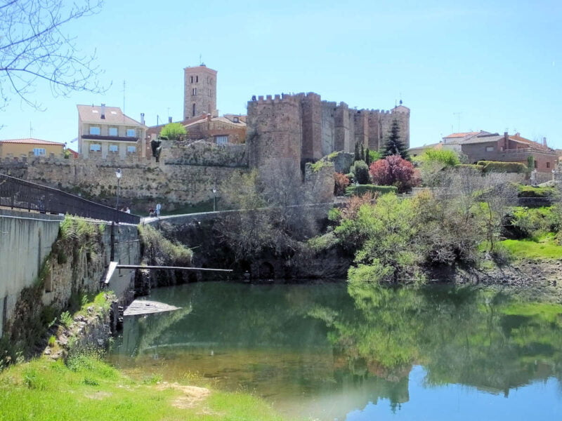 Río Lozoya en Buitrago del Lozoya