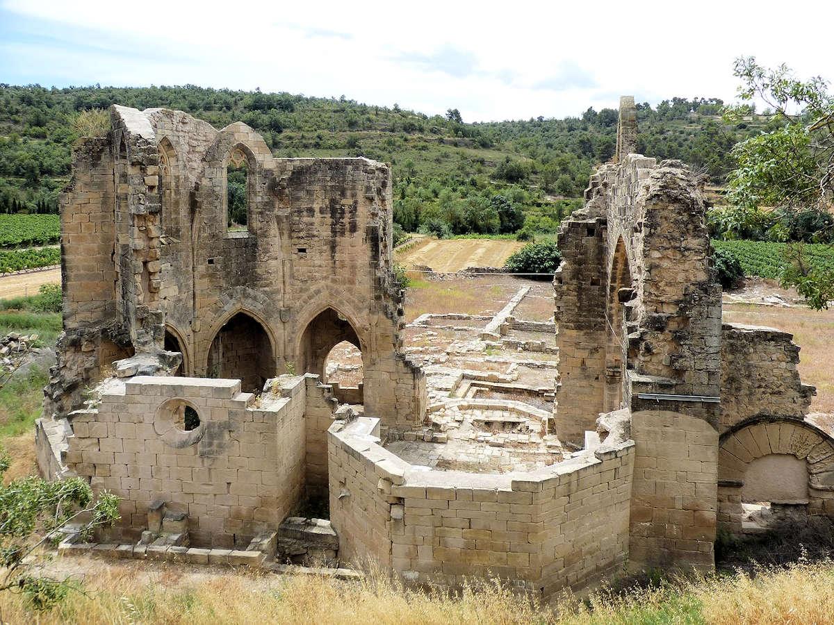 ruinas-Convento-de-Vallsanta-Guimerá-Lleida