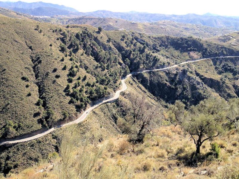 Sierra de Tejeda en Sedella