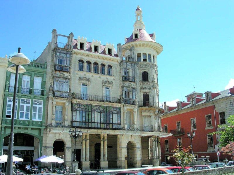 Torre de los Moreno en Ribadeo