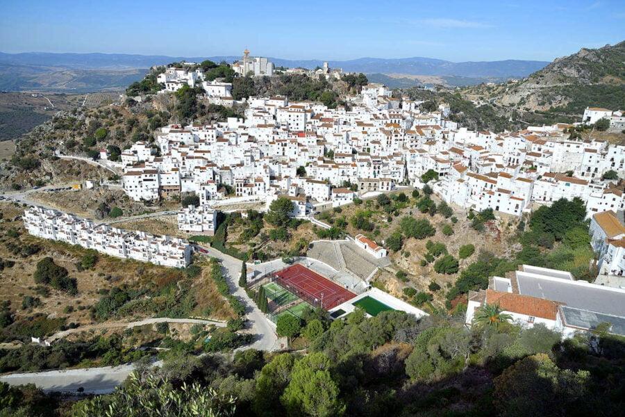 Visitar Casares en Málaga
