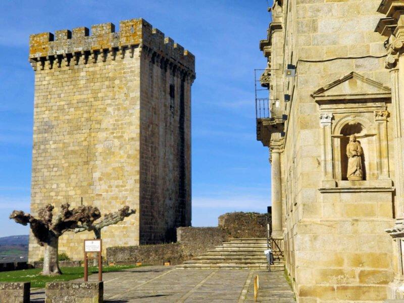 Vistas del Castillo de Monforte de Lemos