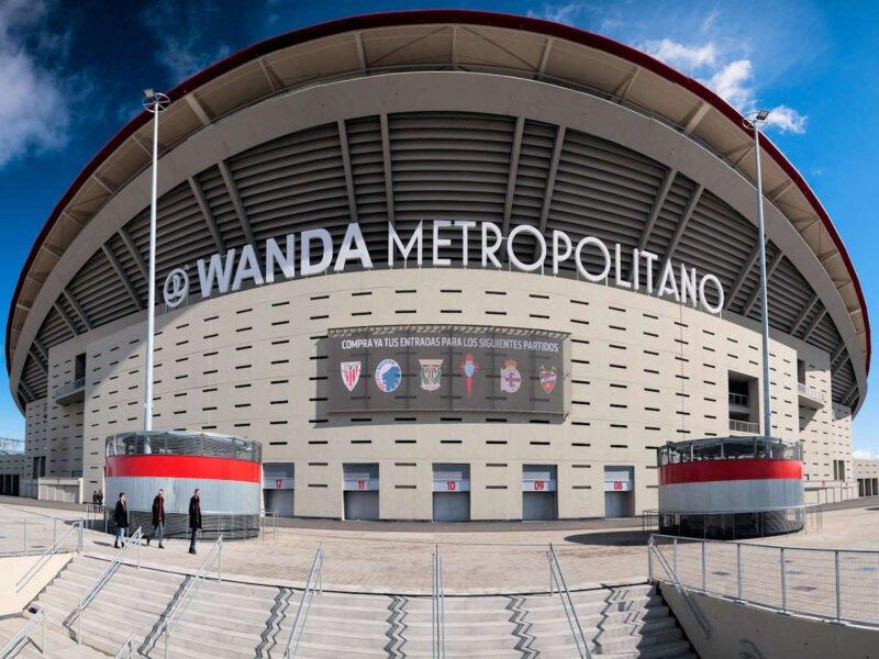 Wanda Metropolitano en Madrid