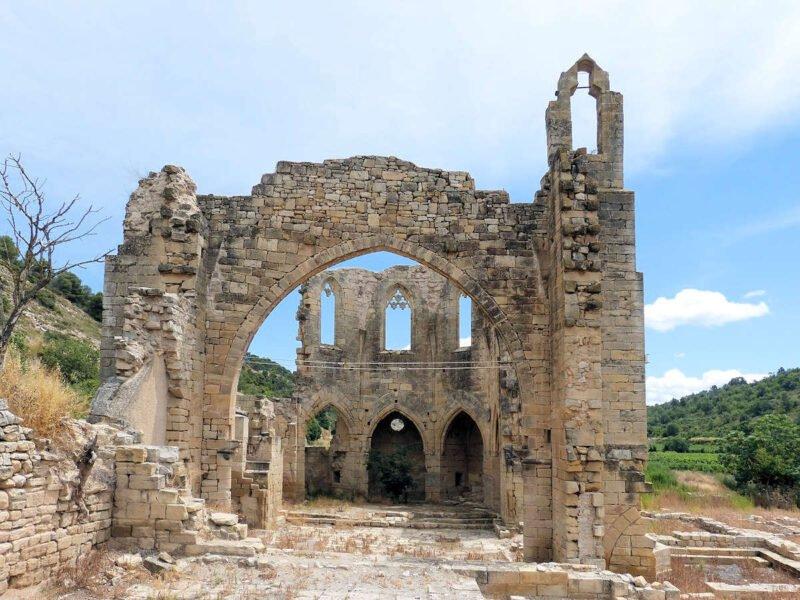 Ruinas del Convento de Vallsanta en Guimerá