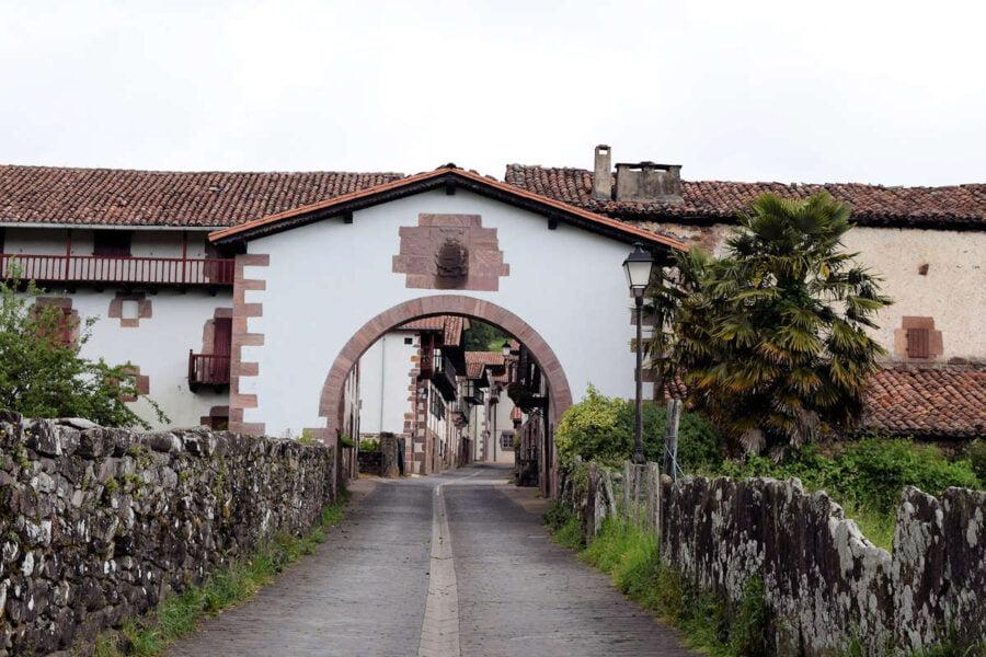 Amaiur en Navarra