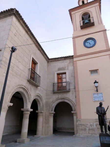 Antiguo pósito y torre del Reloj