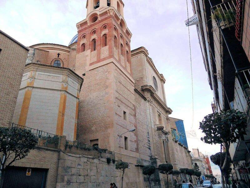Basílica de la Purísima en Yecla