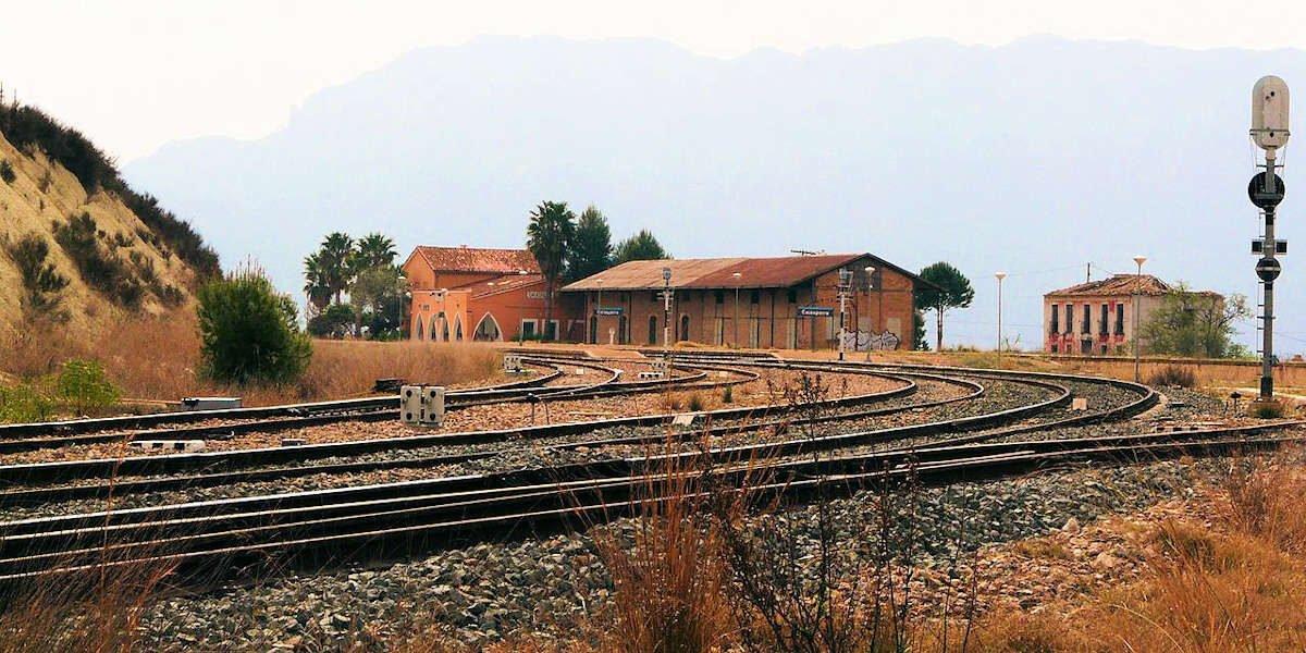 Estación del ferrocarril en Calasparra