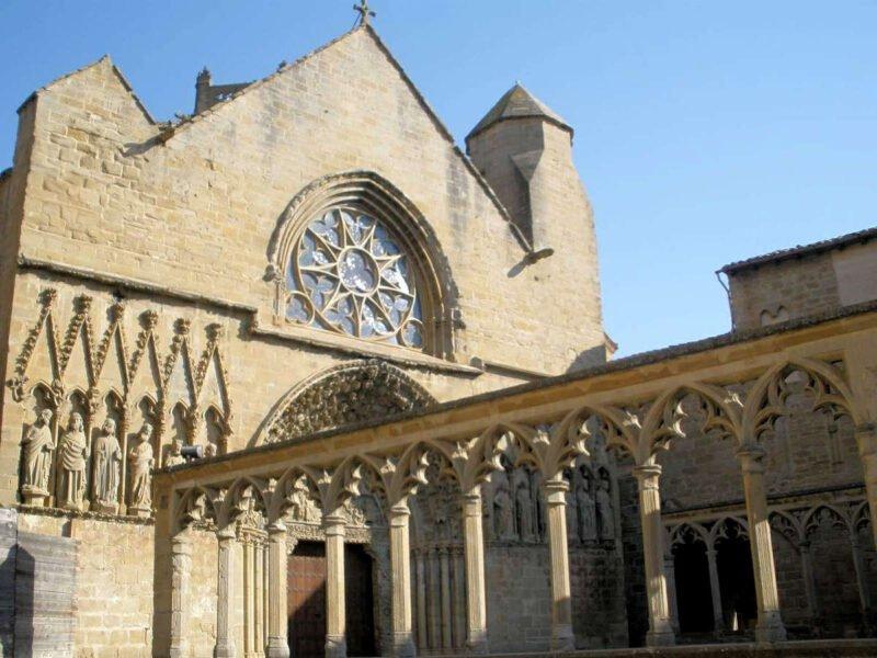 Iglesia de Santa María la Real en Olite