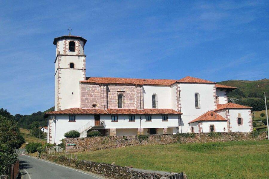 Iglesia de la Asunción en Amaiur