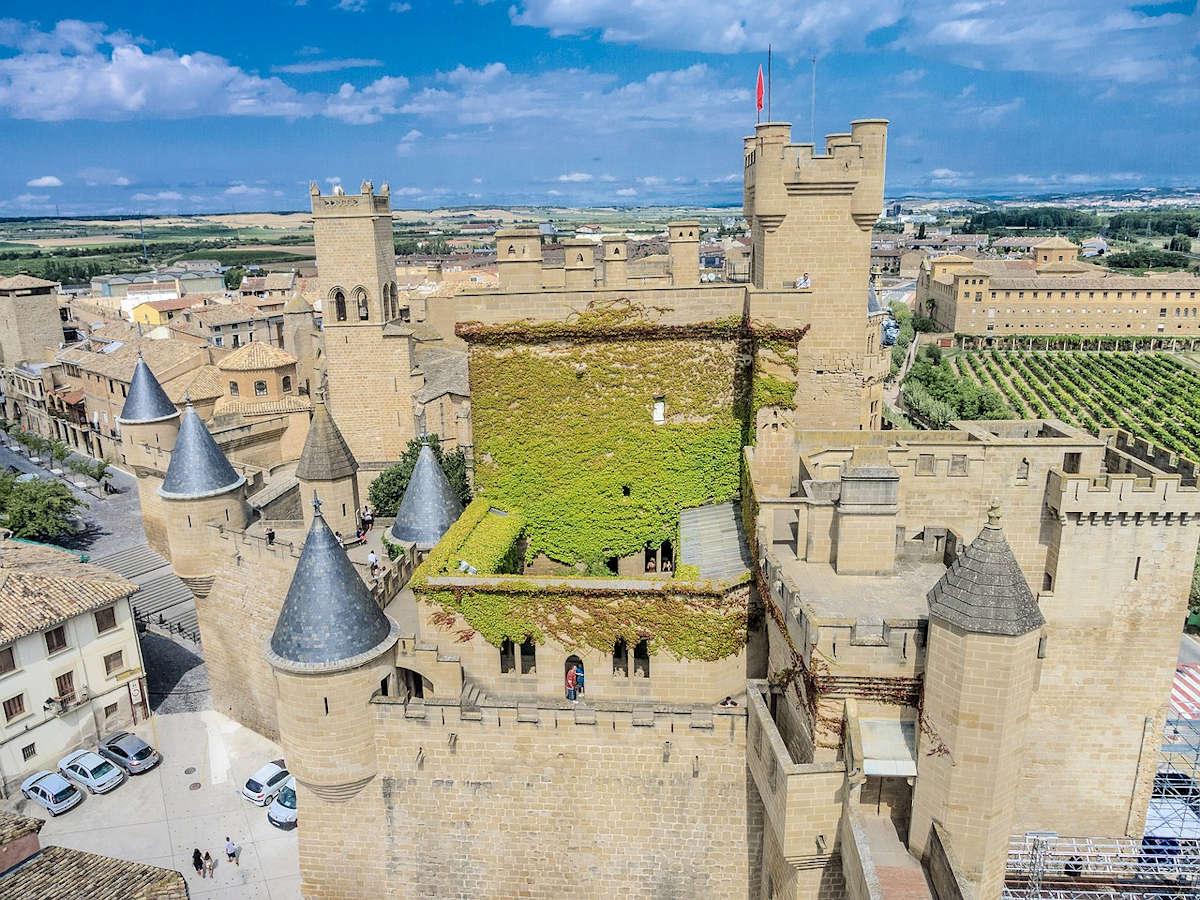 OLITE-Pueblos más Bonitos de Navarra