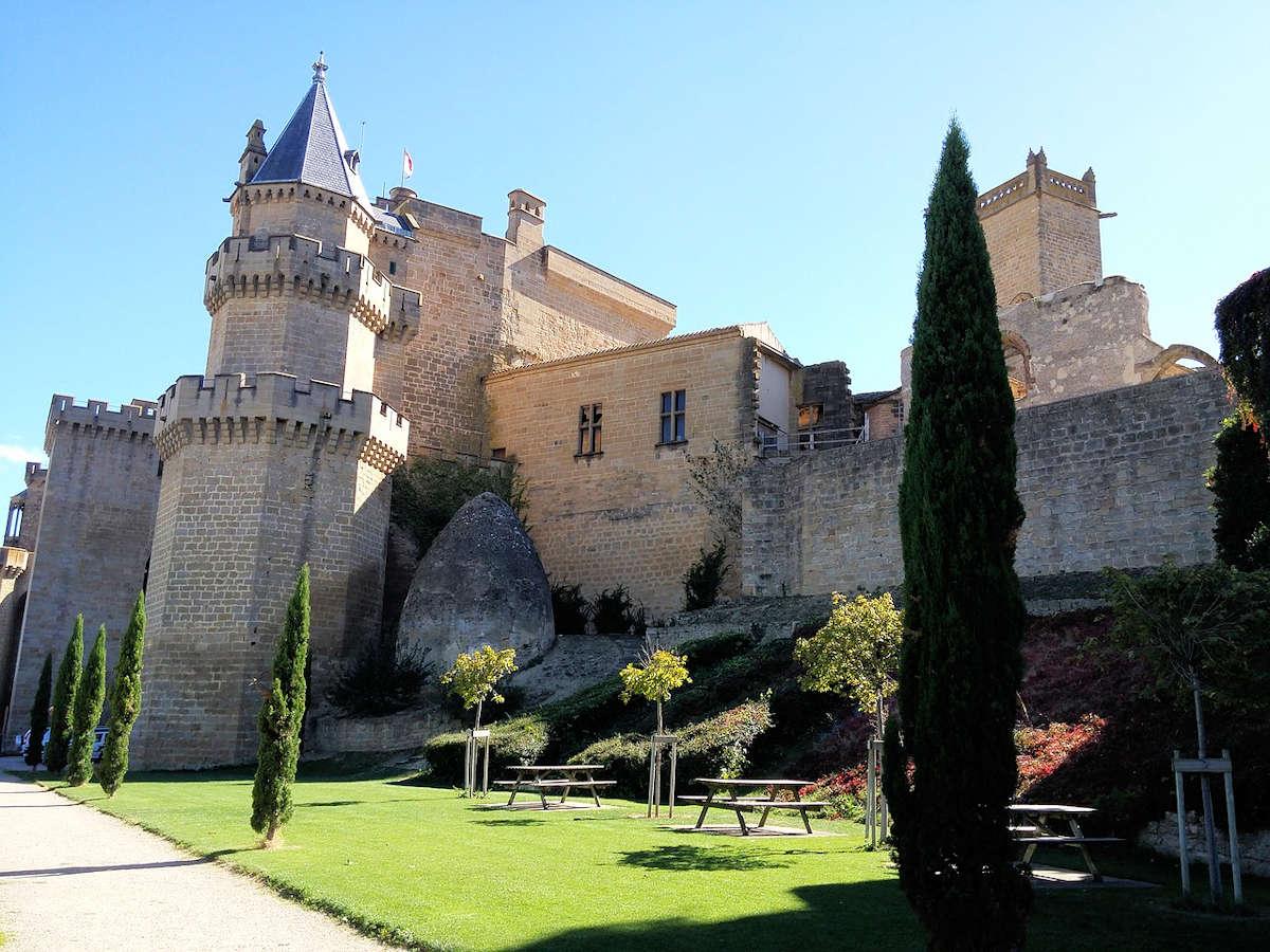 Palacio-Real-en-Olite-Navarra