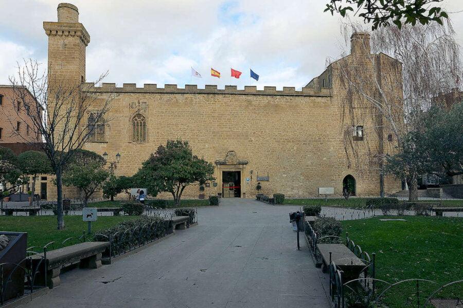 Palacio viejo de Olite