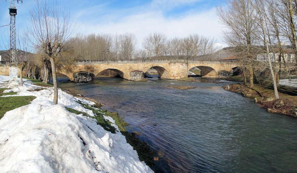 Puente Mayor de Aguilar de Campoo