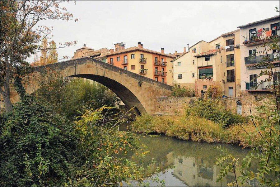 Puente de la Cárcel sobre el Río Ega