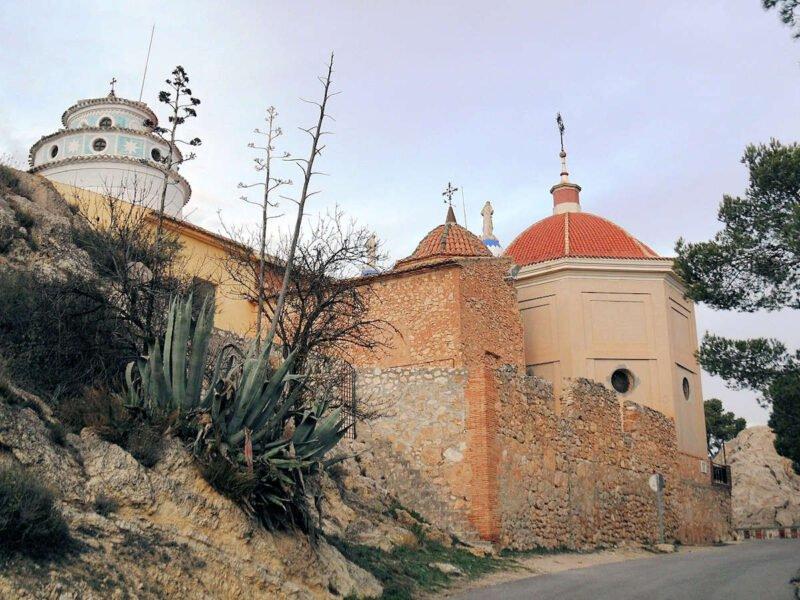Santuario del Castillo en Yecla