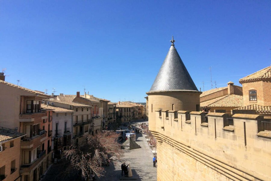 Vistas desde el Castillo de Olite