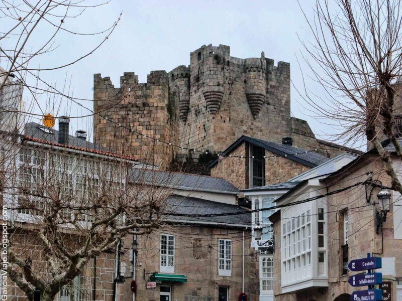 Castillo de los Condes de Lemos en Castro Caldelas