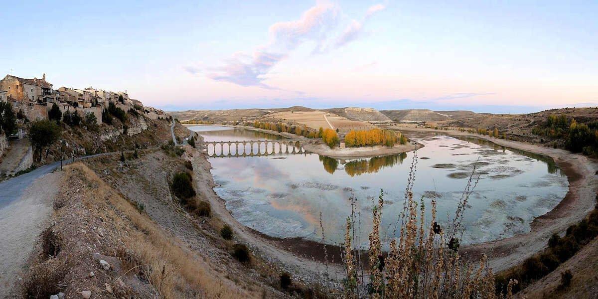 Embalse Linares en Maderuelo