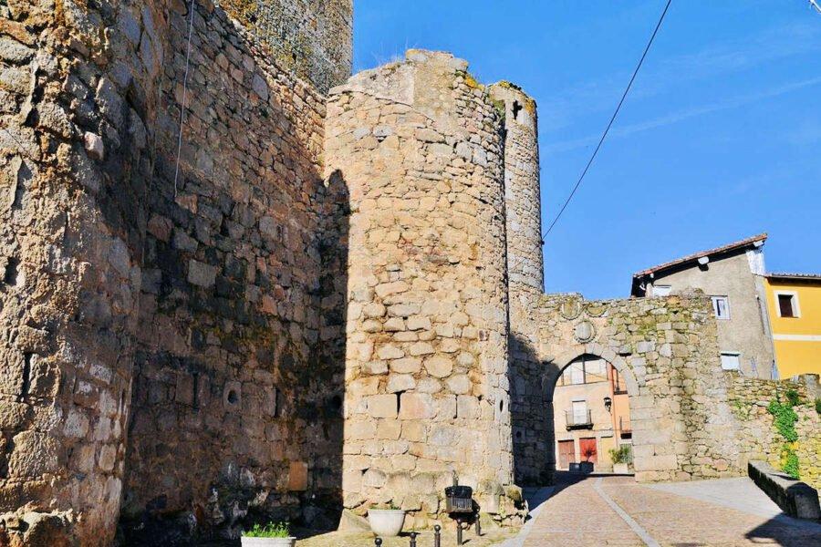 Entrada Castillo Miranda del Castañar