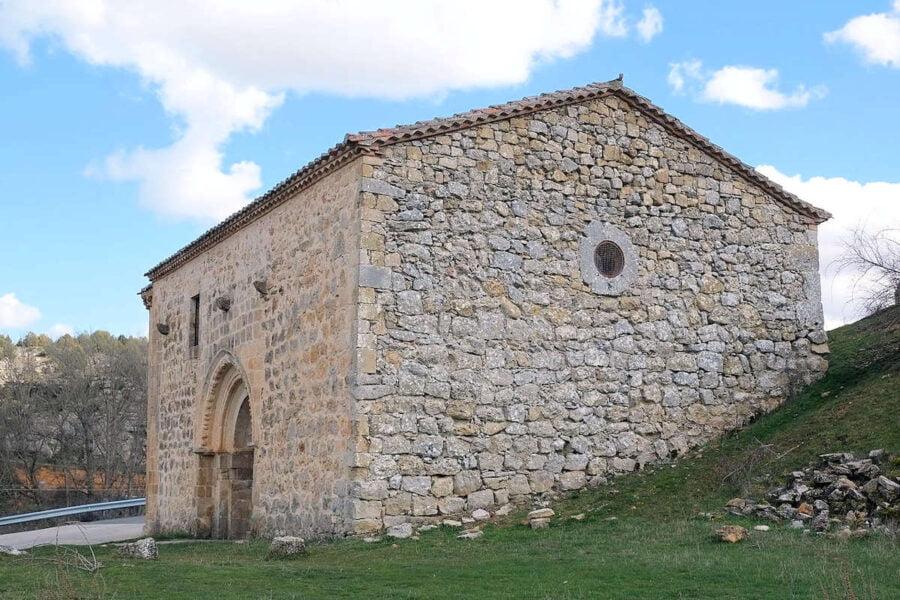 Ermita de la Soledad en Calatañazor Soria