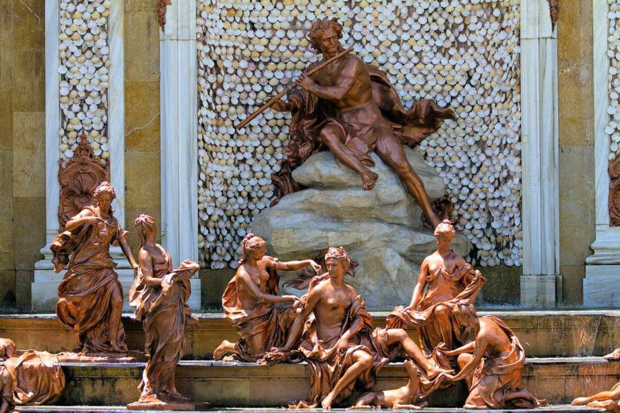 Esculturas del Palacio Real de la Granja de San Ildefonso