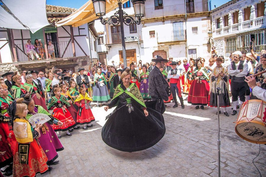 Festividades en Candelario