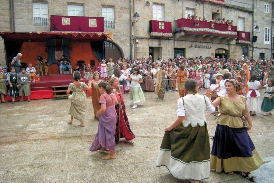 Festividades en Ribadavia Orense