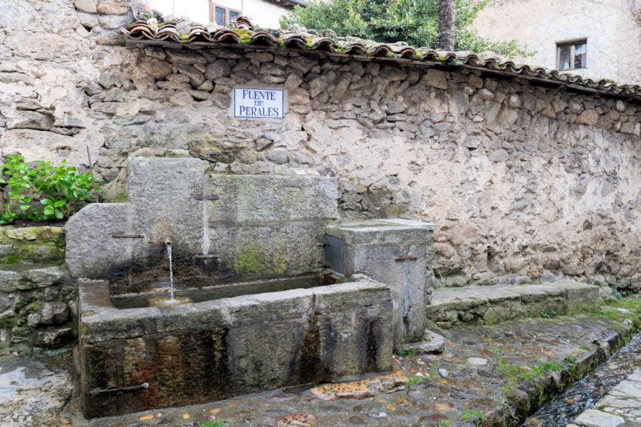 Fuente de Perales en Candelario