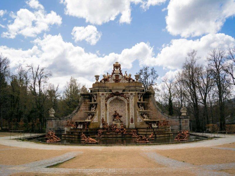 Fuente del Jardin del Palacio Real de la Granja de San Ildefonso