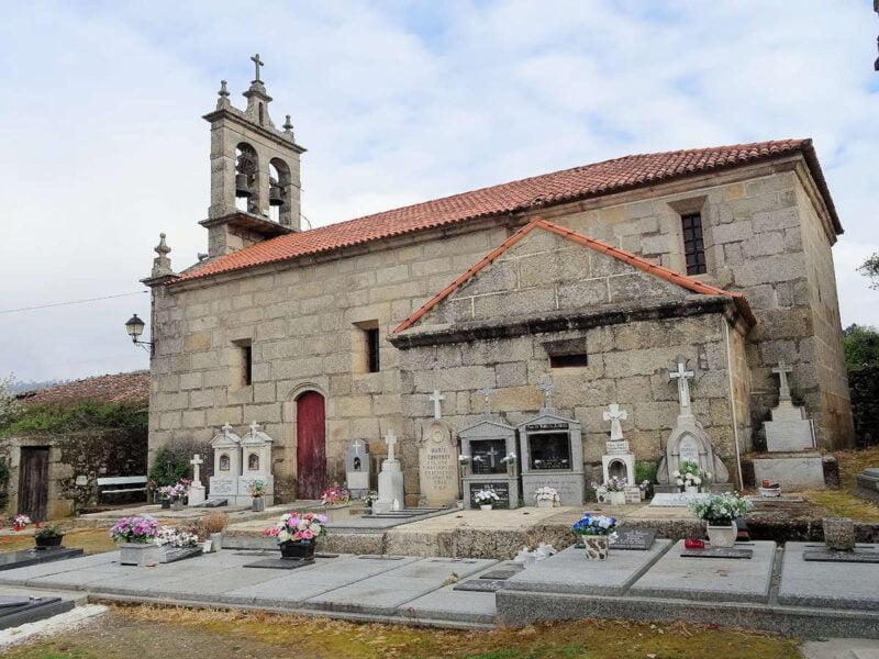 Iglesia San Pedro de Sanín en Ribadavia