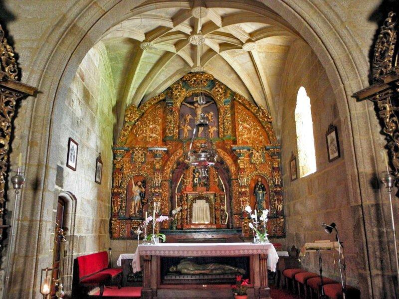 Iglesia de San Xinés de Padriñán