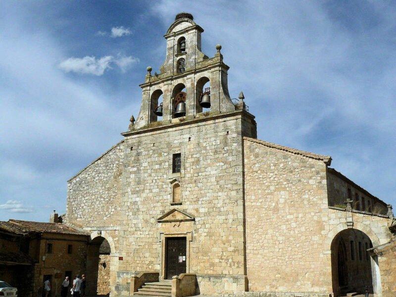 Iglesia de Santa María del Castillo en Maderuelo
