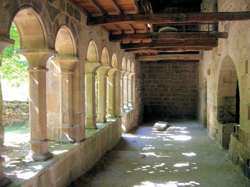 Interior Monasterio de Santa Cristina