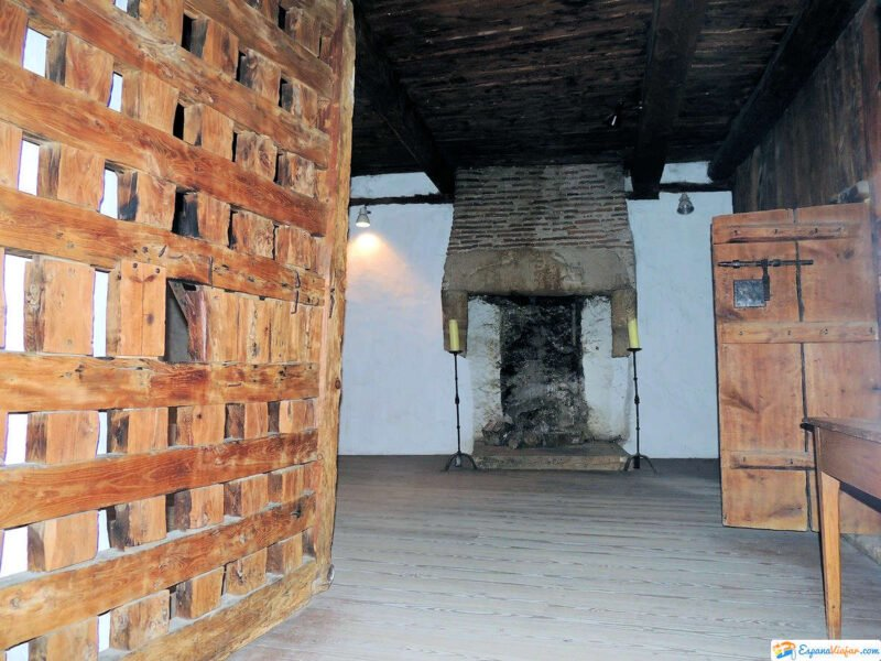 Interior de la Antigua Cárcel